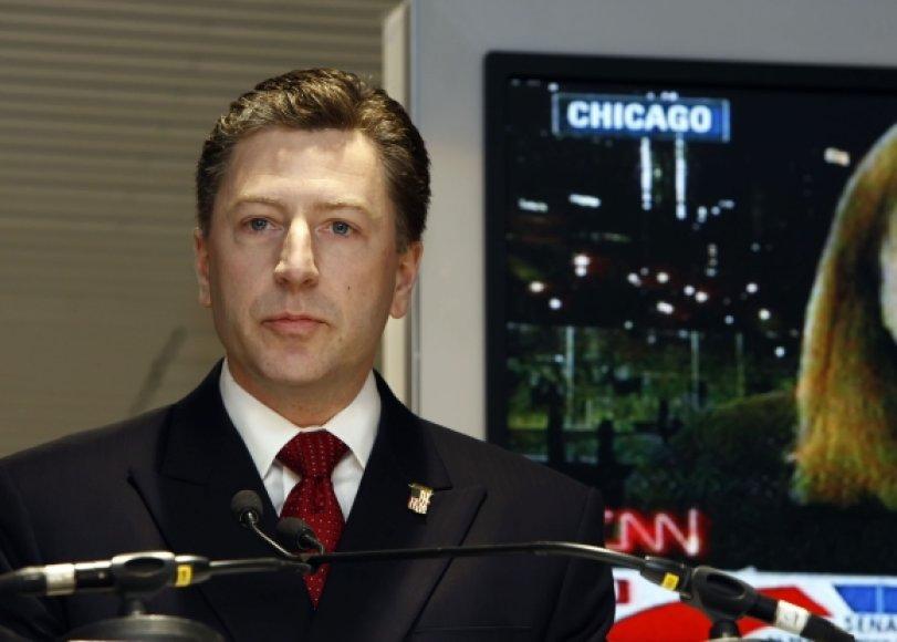 JAV ambasadorius NATO Kurtas Volkeris