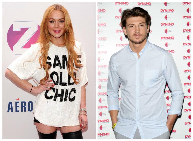 Lindsay Lohan ir Tomas Kilbey