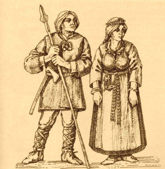 Senovės prūsų, lietuvių ir jotvingių karius vaikystėje savo pienu maitino belaisvės krikščionės