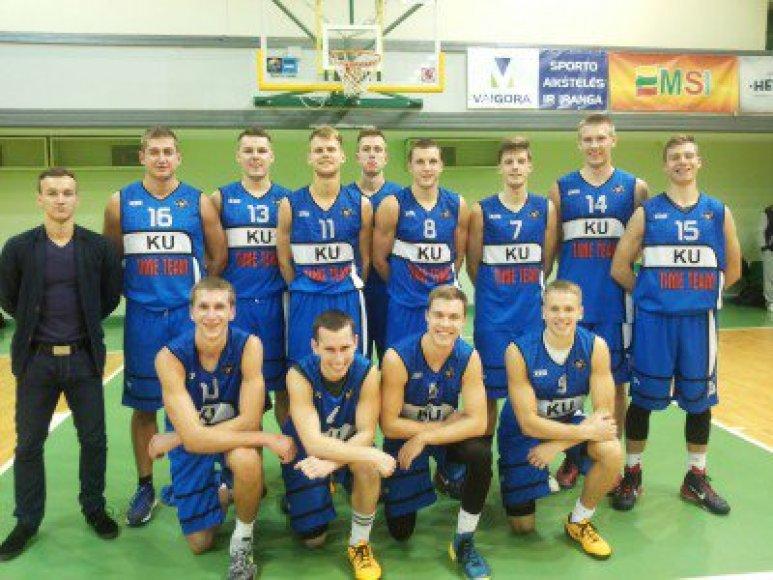 Klaipėdos universiteto studentų komanda