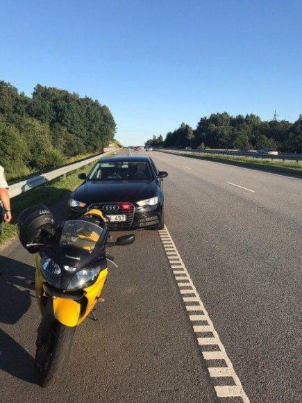 Parduodamas motociklas