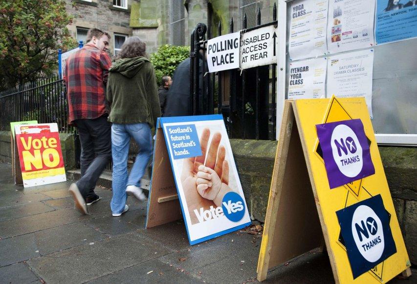 Referendumas dėl Škotijos nepriklausomybės nuo Jungtinės Karalystės