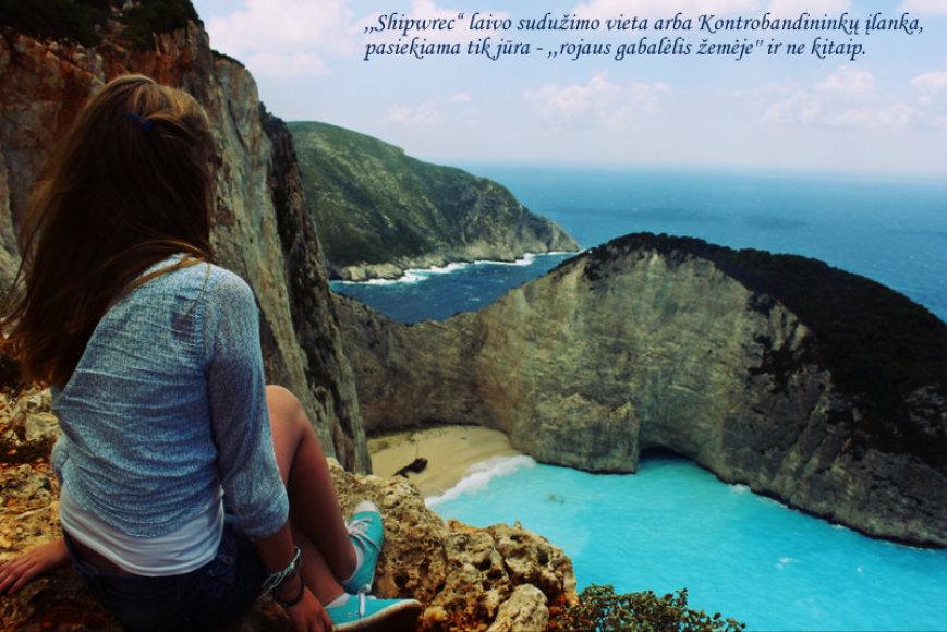 Nuotykiai Santorinio ir Zakinto salose