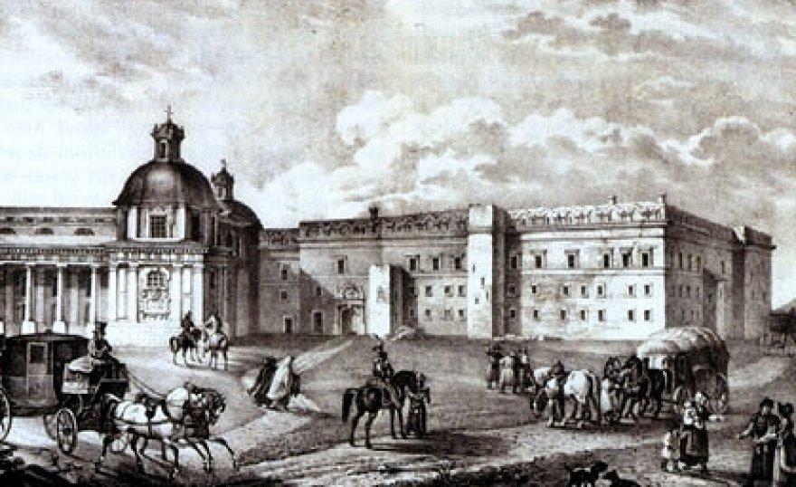 Netoli Valdovų rūmų stovėjo Karliškasis malūnas