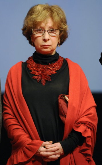 "MOSCOW, RUSSIA. MARCH 1, 2011. Actress Liya Akhedzhakova attends the premiere of Sergei Ginzburg's ""Lyubov-Morkov-3"" movie at the Oktyabr Cinema. (Photo ITAR-TASS/ Artyom Korotayev)"