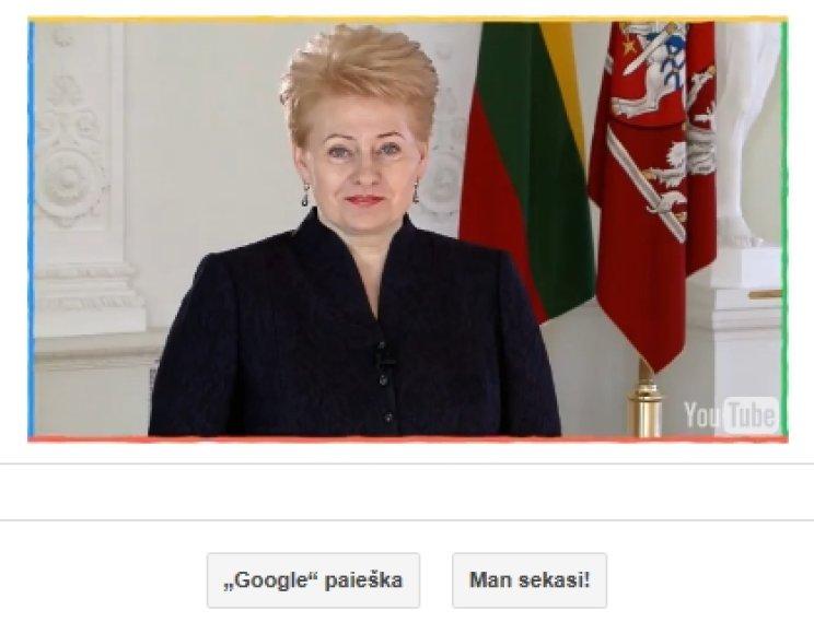 Dalia Grybauskaitė Google paieškoje