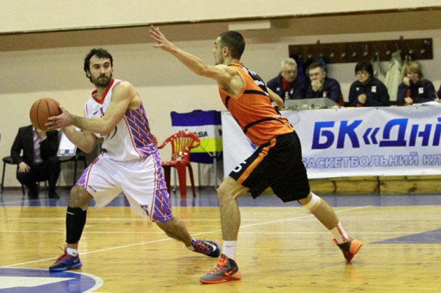 Gediminas Maceina pastaruoju metu žaidė Ukrainoje