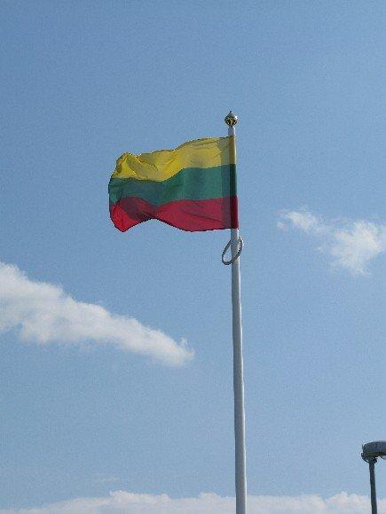 Lietuvos vėliava.