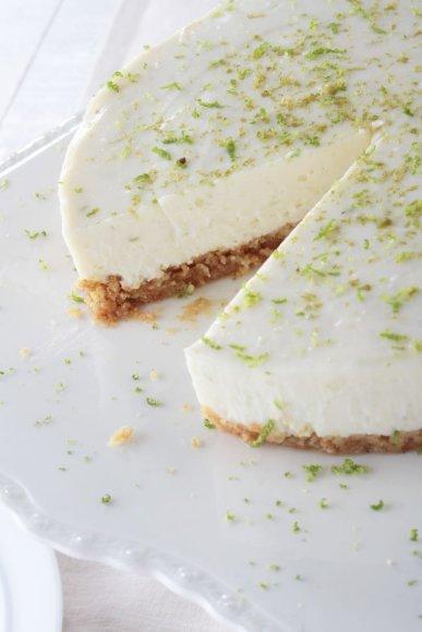 Tortas su žaliąja citrina