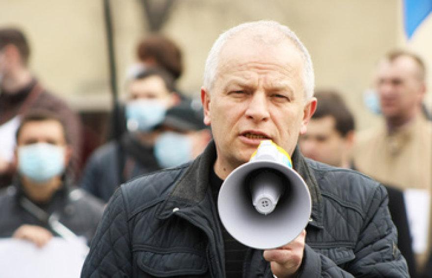 Maidano komendantas Stepanas Kubiva paskirtas Ukrainos Nacionalinio banko vadovu