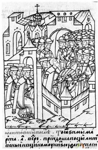 LDK pasiuntinybės priėmimas Maskvoje 1542 metais