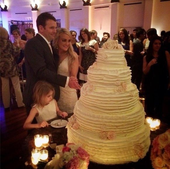 Jamie Lynn Spears su vyru Jamie Watsonu ir dukra Maddie