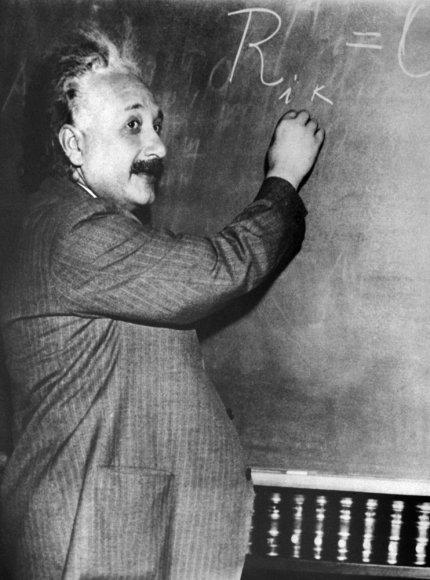 Prieš 135 metus gimė Albertas Einsteinas