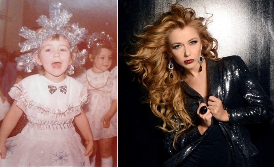 Ingrida Kolytė vaikystėje ir dabar