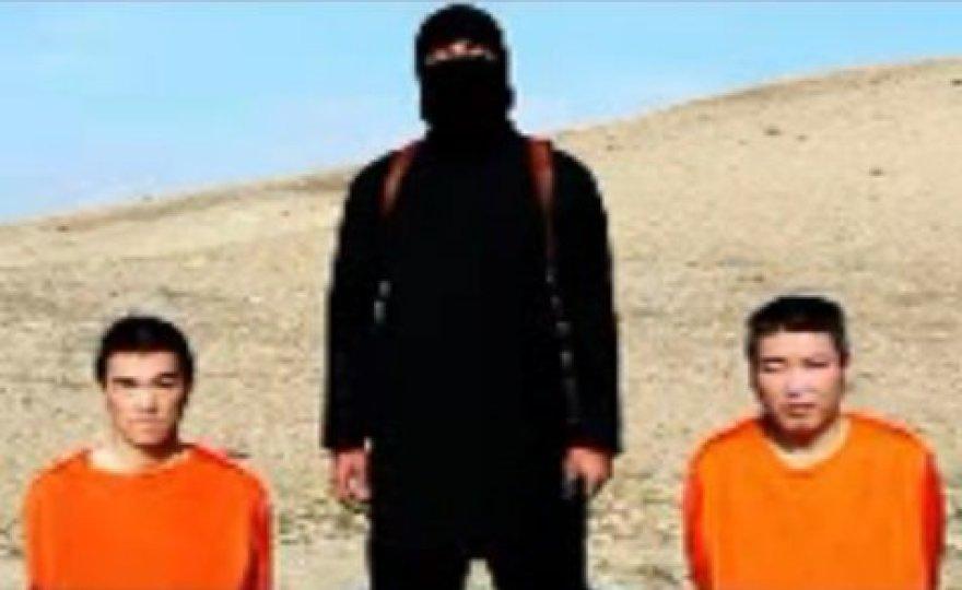 """""""Islamo valstybė"""" grasina nužudyti du pagrobtus japonus."""