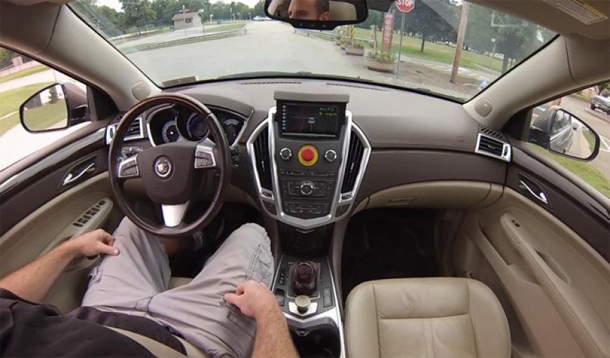 """Autonominis """"Cadillac SRX"""""""
