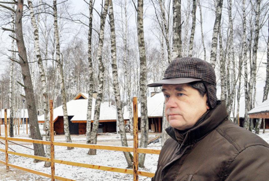 Raimundas Vaitiekūnas Mėguvos kaimo idėją brandino ne vienerius metus