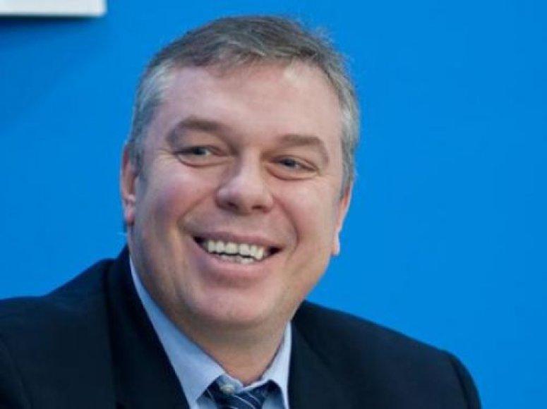 Ukrainos krepšinio federacijos prezidentas Aleksandras Volkovas