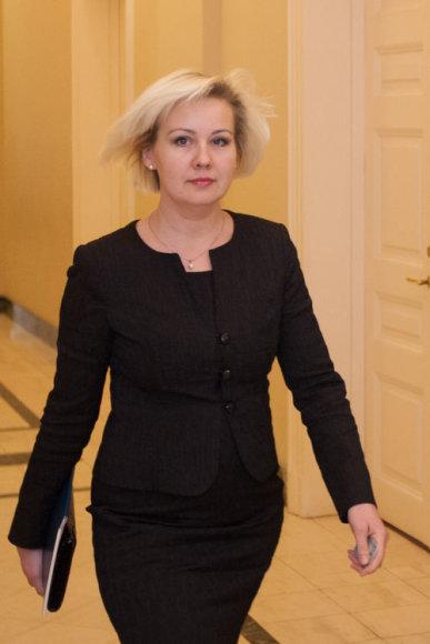 Kainų komisijos pirmininkė Diana Korsakaitė