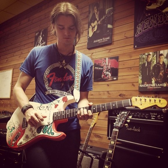 Andrius Grybauskas su Jimio Hendrix Monterey