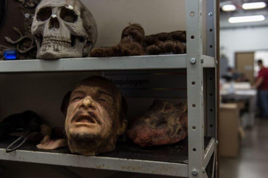 Žmogaus galvos muliažas