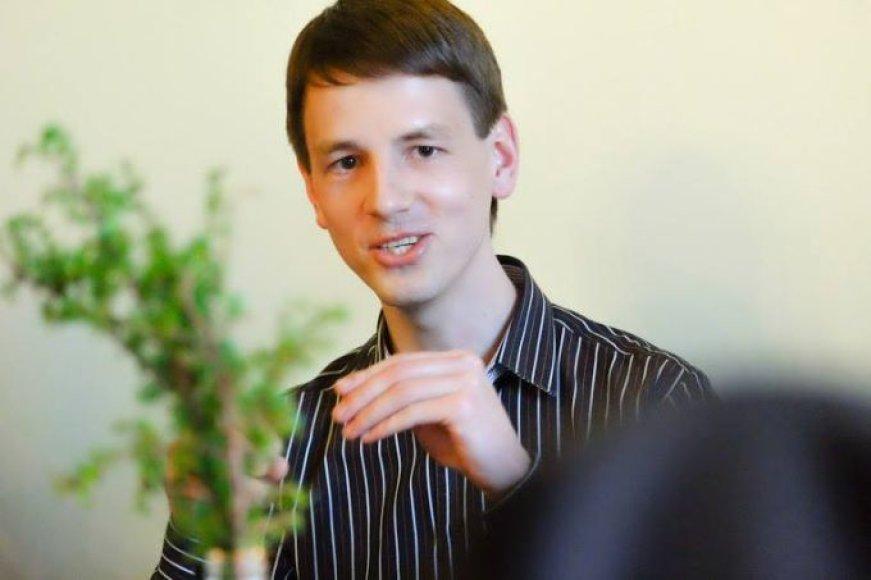 Vaistininkas, žolininkas Marius Lasinskas
