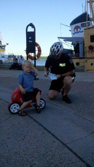 Mažasis pažeidėjas ir pareigūnas