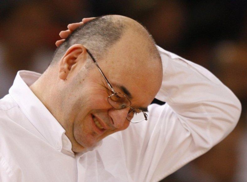 Treneris Duško Vujoševičius paliko CSKA komandą