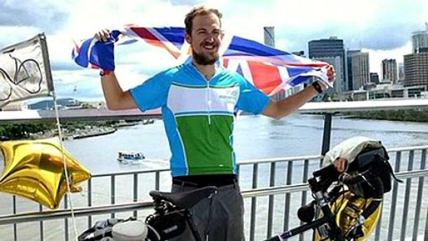 Офисный работник проехал на велосипеде 22 500 километров