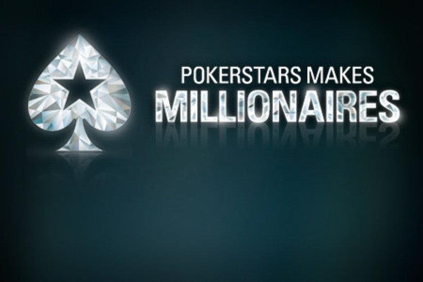 """Akcija """"PokerStars padaro milijonieriais"""" tęsiasi"""