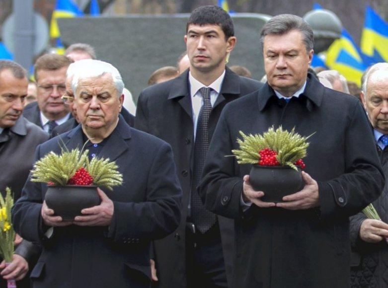 Leonidas Kravčiukas ir Viktoras Janukovyčius