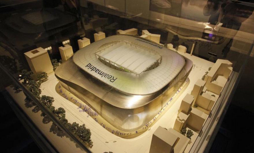 """Madrido """"Real"""" stadiono """"Santiago Bernabeu"""" atnaujinimo planai"""