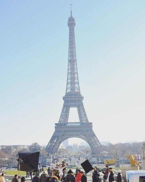 """""""Instagram"""" nuotr./Paris Jackson """"Chanel"""" fotosesijoje Paryžiuje"""