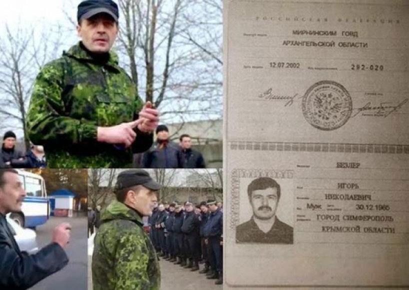 Iš Rusijos atvykęs teroristų vadeiva Igoris Bezleris