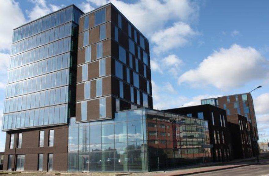 """Pasauliniame konkurse """"Brick Awards 2012"""" dalyvausiantys klaipėdiečių architektų darbas – verslo centro """"Vitė""""."""