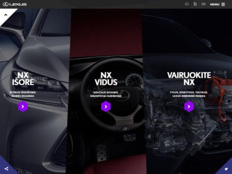 """Lexus Nx"" reklama"