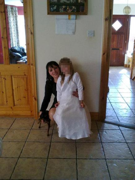 Jolanta Lubienė (Santaitė) su dukra