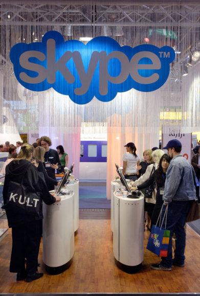 Лого Skype