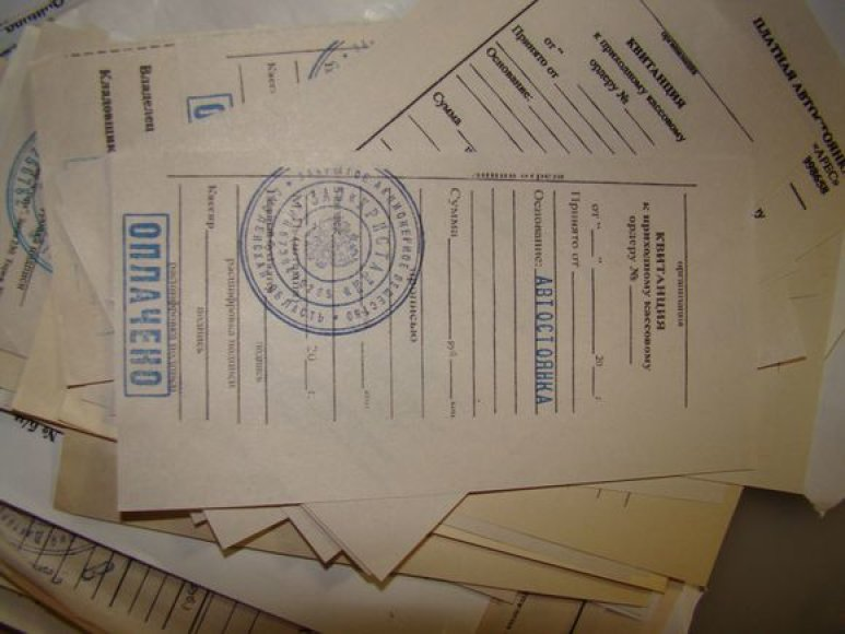 Suklastoti dokumentai