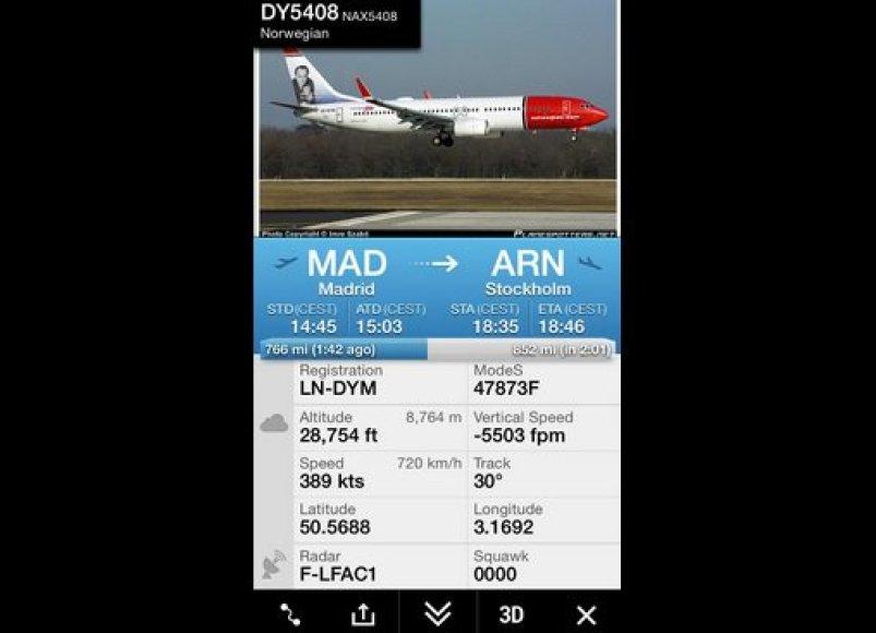 Į Stokholmą iš Madrido skridęs orlaivis nukreiptas į Charleroi oro uostą.
