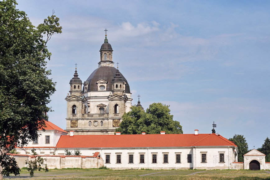 Kamaldulių vienuolynas buvo  įsteigtas Pažaislyje
