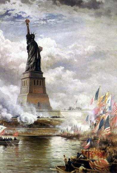 Laisvės statula JAV