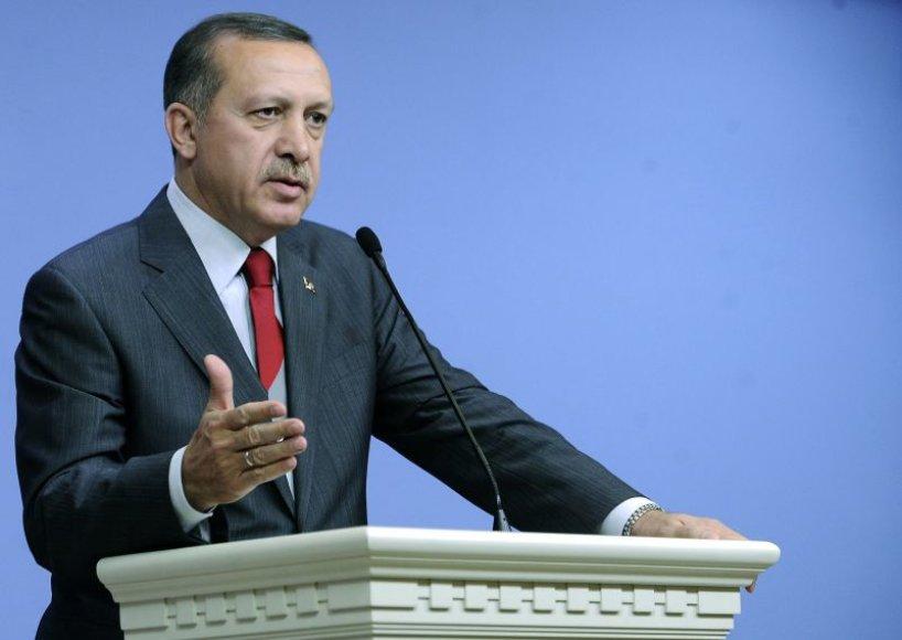 Turkijos ministras pirmininkas Recepas Tayyipas Erdoganas