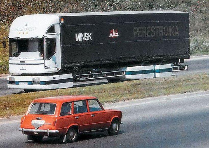 """""""MAZ Perestroika"""" sunkvežimis"""