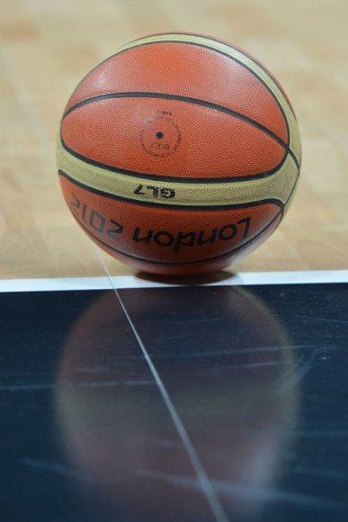 Londono olimpinių žaidynių krepšinio kamuolys