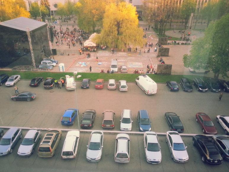 """Angelai sargai per """"Kaunas Jazz"""""""