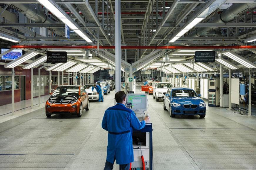 BMW i3 surinkimo linija