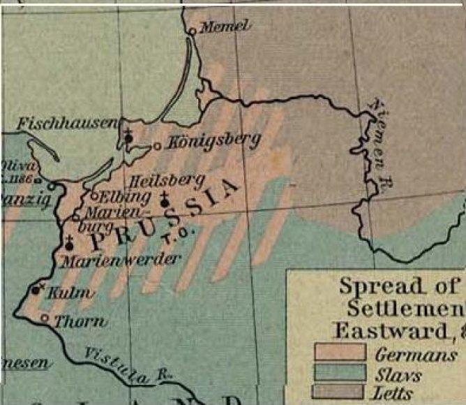 Pasienyje su Prūsija XVIII a. antroje pusėje veikė daug LDK muitinių