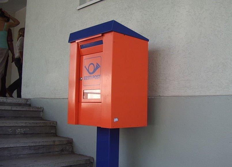 Estijos pašto dėžutė