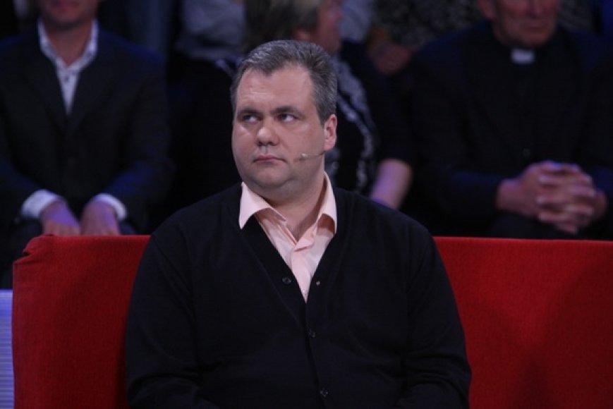 "TV laidos ""Valanda su Rūta"" akimirka"